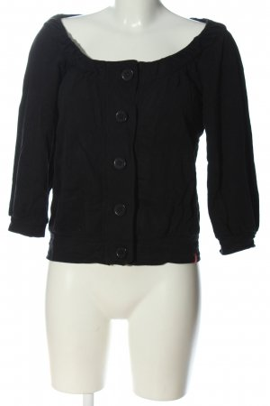 edc Cardigan schwarz Casual-Look