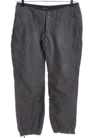 edc Pantalon cargo gris clair style décontracté