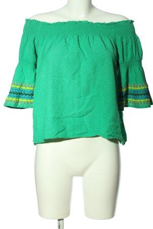 edc Carmen blouse veelkleurig casual uitstraling