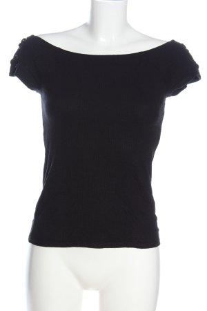 edc Top épaules dénudées noir style décontracté