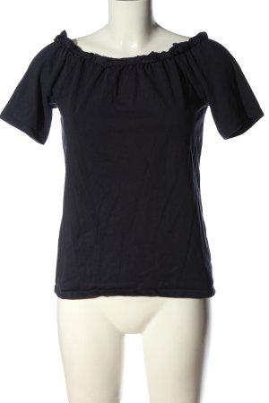 edc Carmenshirt blau Casual-Look