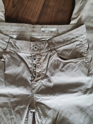 edc by Esprit Pantalon chinos gris brun-beige