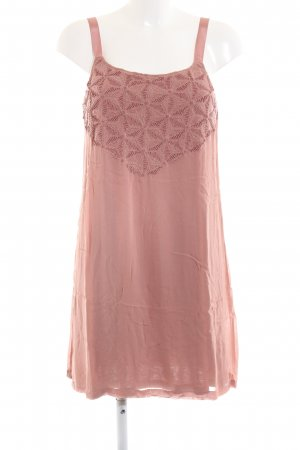 edc Cocktailkleid pink grafisches Muster Casual-Look