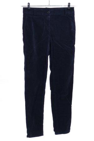 edc Pantalon en velours côtelé bleu style décontracté