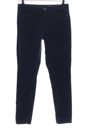edc Pantalon en velours côtelé noir style décontracté