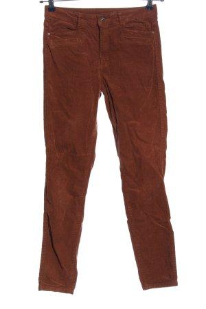edc Pantalón de pana marrón look casual