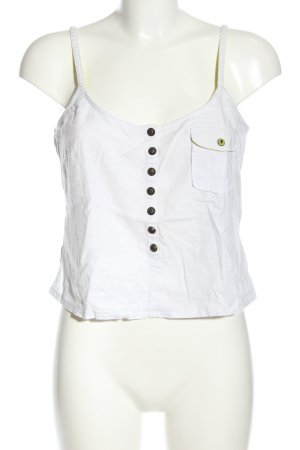 edc Cropped Top weiß Casual-Look