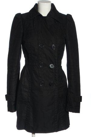 edc Duffle-coat noir style décontracté