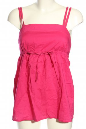 edc Top de corte imperio rosa look casual