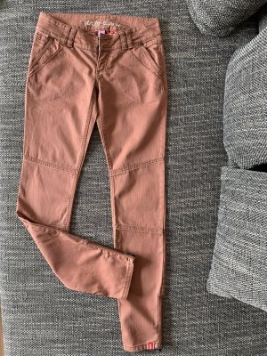 edc by Esprit Low Rise jeans roodbruin