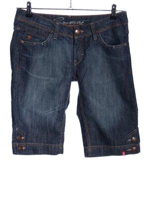 Edc Esprit Jeansshorts blau Casual-Look
