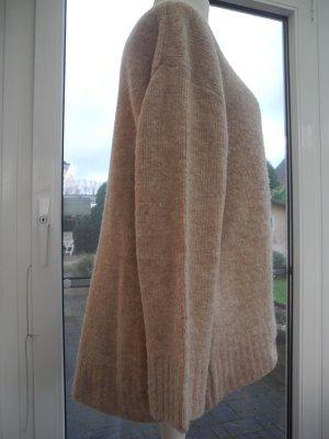 edc by Esprit Oversized trui camel-zandig bruin Gemengd weefsel