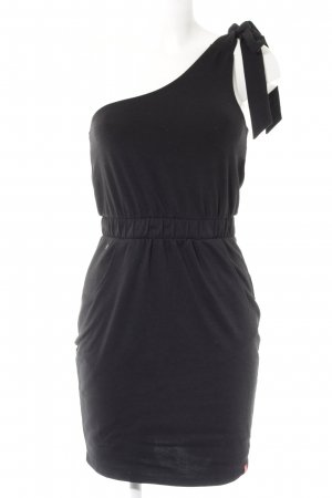 Edc Esprit One Shoulder Dress black casual look