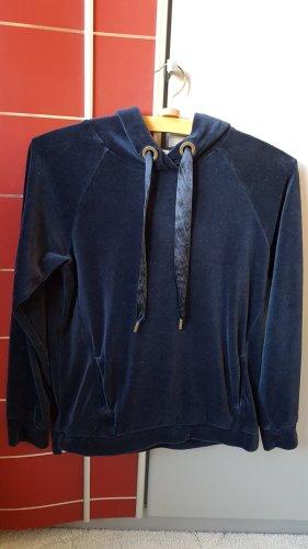 Edc Esprit Hooded Sweater blue-dark blue