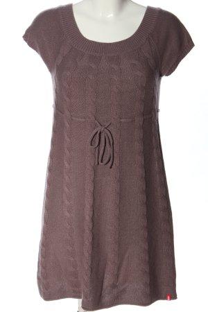 Edc Esprit Pulloverkleid braun Casual-Look