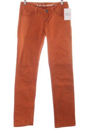 Edc Esprit Skinny Jeans dunkelorange Casual-Look