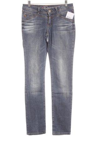 Edc Esprit Slim jeans blauw straat-mode uitstraling