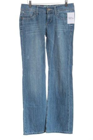 Edc Esprit Jeans a gamba dritta blu stile casual
