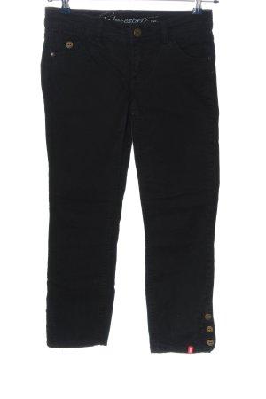Edc Esprit Jeans a gamba dritta nero stile casual