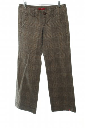 Edc Esprit Pantalone di lana motivo a quadri stile classico