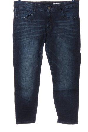 edc Pantalón de cinco bolsillos azul look casual