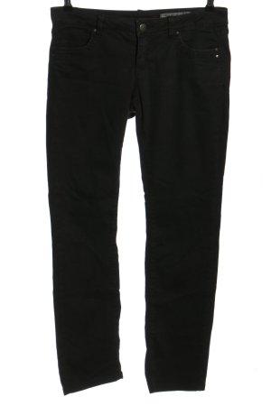 edc Pantalon cinq poches noir style décontracté