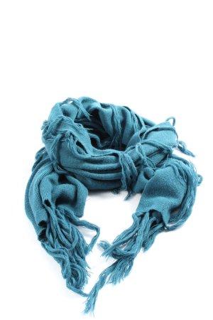 edc Fransenschal blau Casual-Look