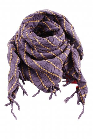 edc Fringed Scarf striped pattern casual look