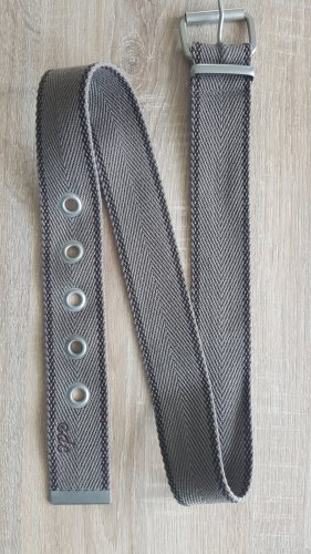 edc by Esprit Fabric Belt grey brown-dark brown