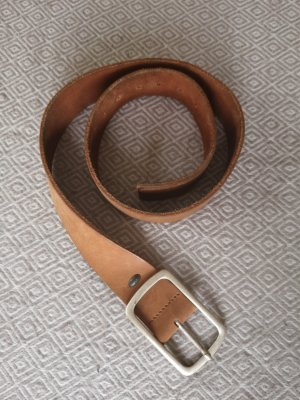 Edc Esprit Leather Belt brown