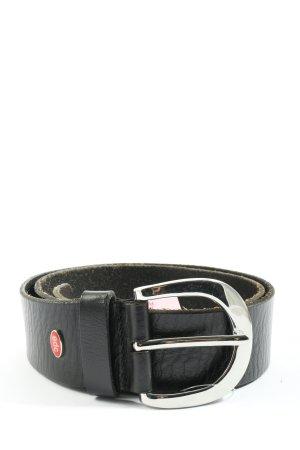 edc Hebilla del cinturón negro look casual
