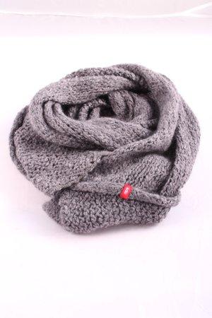 edc Gehaakte sjaal lichtgrijs-rood prints met een thema casual uitstraling
