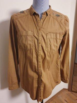 edc by Esprit Blusa-camisa marrón claro