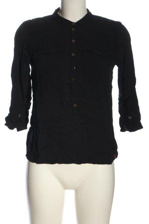 edc Hemd-Bluse schwarz Casual-Look