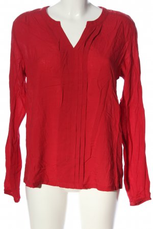 edc Hemd-Bluse rot Business-Look