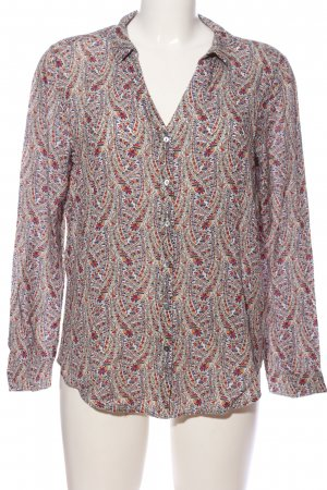 edc Hemd-Bluse abstraktes Muster Casual-Look