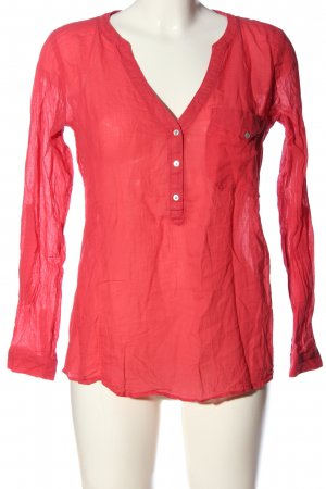 edc Hemd-Bluse rot Casual-Look