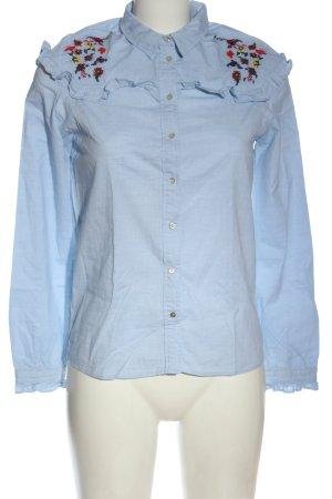 edc Hemd-Bluse blau Elegant