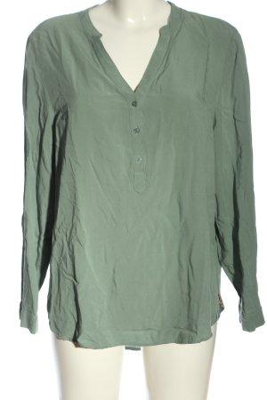 edc Hemd-Bluse khaki Business-Look