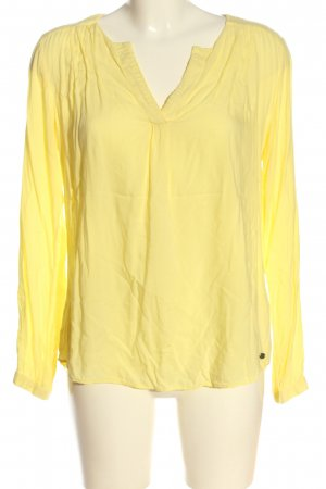 edc Hemd-Bluse blassgelb Casual-Look