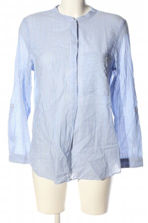 edc Hemd-Bluse blau Streifenmuster Business-Look