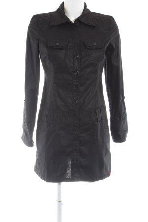 edc Vestido tipo blusón negro look casual