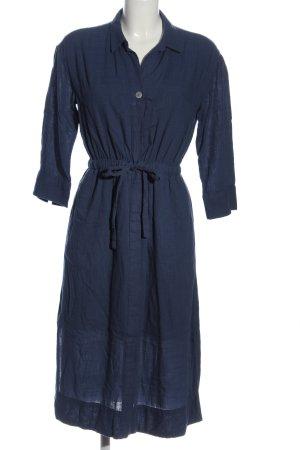edc Hemdblusenkleid blau Casual-Look