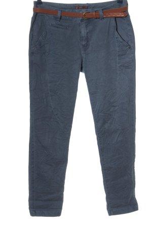 edc High-Waist Hose blau Casual-Look