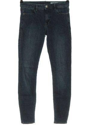 edc Jeans taille haute bleu style décontracté