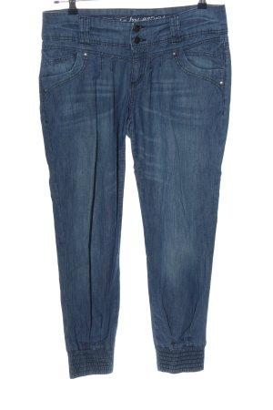edc High Waist Jeans blau Casual-Look