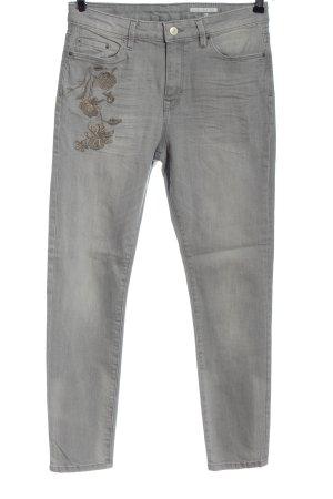 edc High Waist Jeans hellgrau Casual-Look