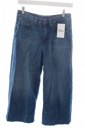 Edc Hoge taille jeans staalblauw casual uitstraling