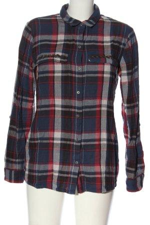 edc Koszula w kratę Wzór w kratkę W stylu casual