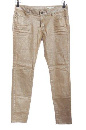edc Lage taille broek goud casual uitstraling